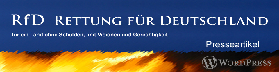 WordPress Presseartikel RfD Rettung für Deutschland
